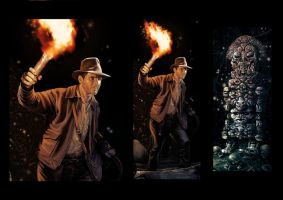 indiana jones by brahamil