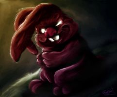 Bunny From Hell by gerky-art