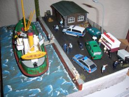 Harbour Diorama finished by nessi6688