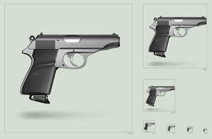 Walther PP - icon by hbielen