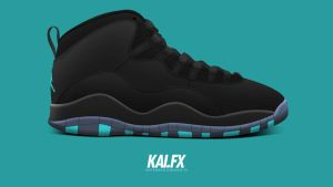 Air Jordan 10 'Gamma' by BBoyKai91