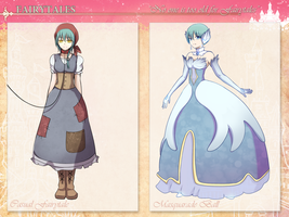 ToDA: Sharon's Fairytale Event Costumes by ichigolollipop
