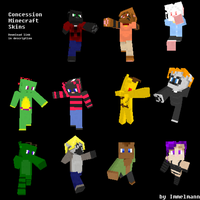 Concession Skins for Minecraft by SonOfNothing