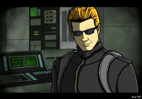 Wesker by Nick-McD