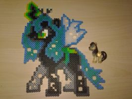 Queen Chrysalis Perler by Perler-Pop