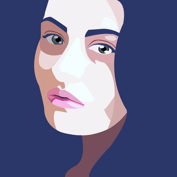 Self portrait by Hlendr-Ginith