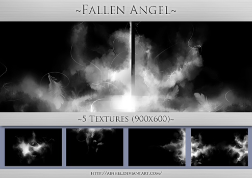 #11 Texture Pack (900x600) - Fallen Angel by Ainhel