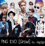 PNG EXO [Growl] by ~lagsiga by lagsiga