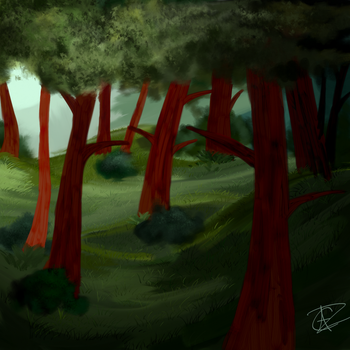 Forest by bowtie-pencil
