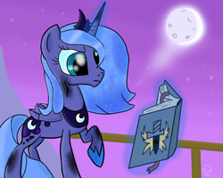 Luna and forbidden knowledge by chaosmalefic