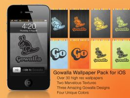 Gowalla Master iPhone Pack by RedeemingDesign