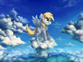 Derping in the clouds by vapgames
