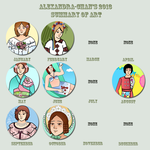 2013 Art Summary Meme by Alexandra-chan