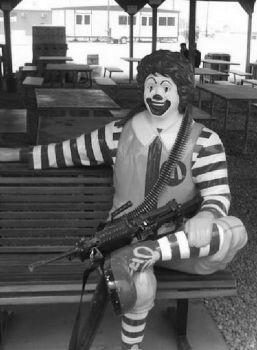 Ronald McDonald in the Middle East by usopprules98