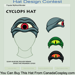 Contest Entry - Cyclops Hat by CraftyWingy