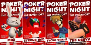 Let's Play Poker Night at the inventory - Ep. 1 by JohnnyHedgehog1992