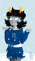 ...Let it snow... by izzyfan119