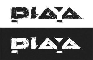 playa logo by skigfx