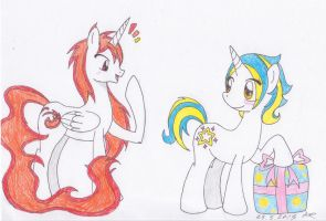 MLP FIM: HappyBirthday Flashfire(Blaze984) by AshRob89