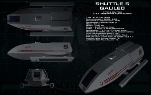Type 4 shuttlecraft ortho - Galileo by unusualsuspex