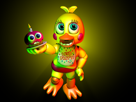 Adventure Toy Chica! by HeroGollum