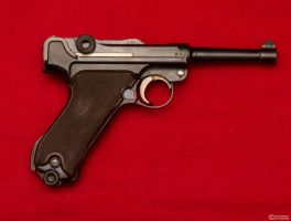 1937 Krieghoff Luger *Reverse* by spaxspore