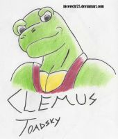 Clemus Toadsky by meowchi75