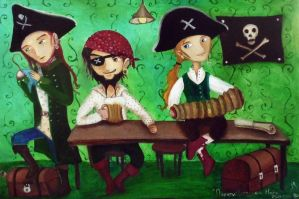 Pirates by Ha-Ru-Ki