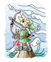 Windwaker Link by CBummers