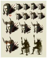 Fire Lord - Character Studies by Changinghand