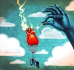 the heart balloon by ambientdream