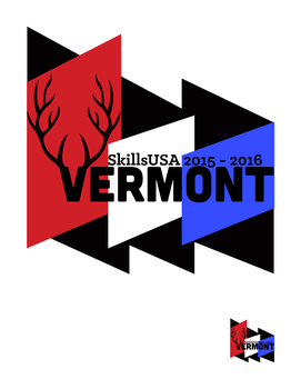SkillsUSA Pin Vermont. by SuicideParker