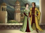 Edward I of England and Eleanor of Castile by kaybay2323