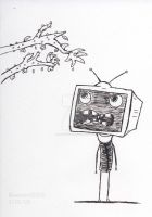 T.V. Head by Bluewind2006