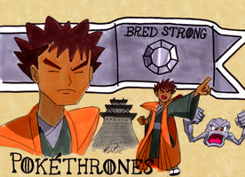 Pokethrones - Brock of House Pewter by wafische89
