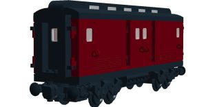 LCRR: Baggage Car 1910-1940 by steamrailwilly