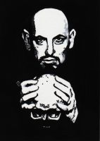 Anton LaVey by MisterSali