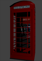 Final London Red Box by RhysTabor