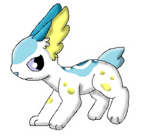 Ice/Electric Bunny (Fakemon) by Dianamond