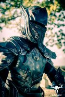 Skyrim's Ebony Armor - photoshot #2, picture 3 by Folkenstal