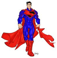 ultimate superman colored by 585
