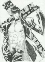 Nicholas D. Wolfwood by SailorEarth316