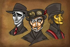 Steam Powered Giraffe by WendyDoodles