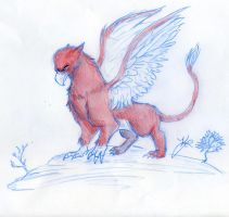 The Gryphon by WulfFather