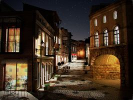 Old Tbilisi concept - Night1 by iraklisan