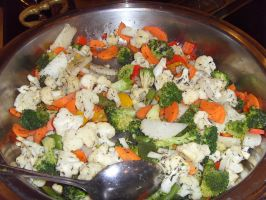 Sauteed Vegetable by Gexon