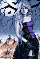All Hallows' Eve by ElvenstarArt