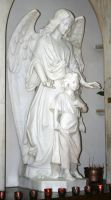 Denver Cathedral Statues 64 by Falln-Stock