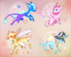Adoptables -closed- by Rorita-Sakura