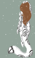 the ghost of the snow by o0Andraste0o